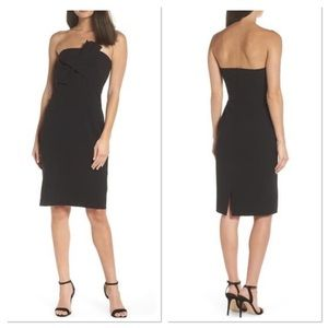 Chelsea28 Strapless Bow Front Dress (C)
